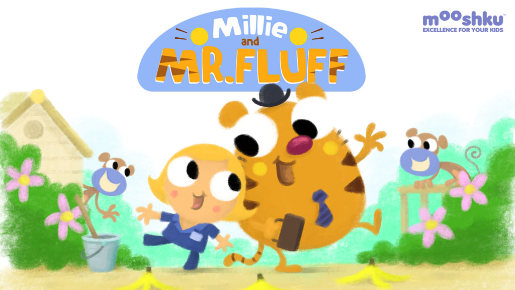 Millie and Mr Fluff